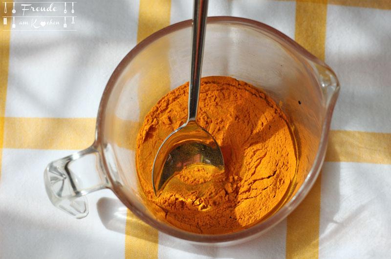 Gesundheitsvorsorge - Goldener Honig - Golden Honey - Kurkuma Honig - Freude am Kochen