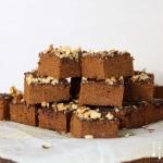 Süßkartoffel Brownies ohne Nix - glutenfrei, zuckerfrei, vegan
