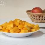 Mango Joghurt Eis, schnell - vegetarisch