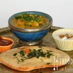 Dhal - Indische Linsen mit Zucchini