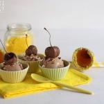 Schokoladeeis mit Pekanuss