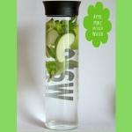 Apfel Granny Smith Pfefferminz infused Water - aromatisiertes Wasser