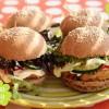 Quinoa-Burger von Attila Hildmann beim Picknick über Wien
