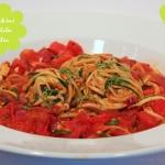 Zucchini Pasta Indian Style ala *ups*