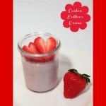 Cashew Erdbeer Creme bzw Cashew Joghurt