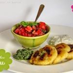 Aloo Tikki - indische Kartoffel Laibchen