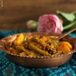 Aloo Phalli - Fisolen Kartoffel Gemüse indisch