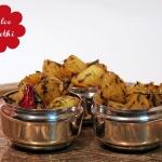 Aloo Methi - indische Kartoffel mit Bockshornklee-Blättern