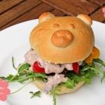 Silvester Burger mit Seitan-Schnitzel