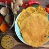 Besan ka Cheela -  pikante Kichererbsen Pancakes