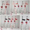Valentinstag: Strohhalm DIY & free Printable