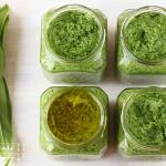 Bärlauch Pesto - vegetarisch