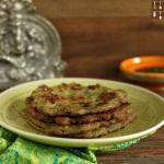 Koreanisches Mungbohnen Omelett Pfannkuchen - Bindaetteok