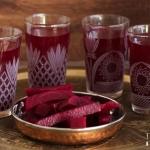 Kanji - indischer fermentierter Roter Rüben - Roter Bete - Drink