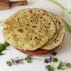 Wildkräuter Chapati