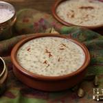 Indischer Sago Pudding - Sabudana Kheer