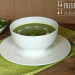 Bärlauch Kartoffel Suppe – vegetarisch