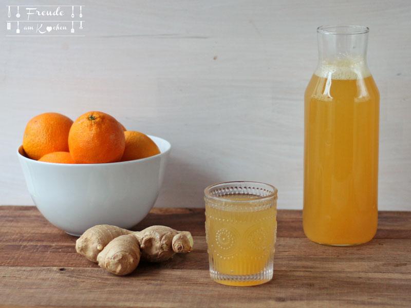 Ingwer Orangen Limonade - Freude am Kochen
