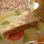 Apfel Schicht Becher Torte – vegetarisch