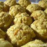 Karotten Haselnuss Muffins – vegetarisch