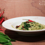 Spaghetti Aglio, Olio é Pomodori secchi