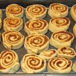 Cinnamon Rolls – amerikanische Zimt-Schnecken – vegetarisch