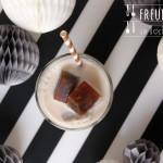 Aromatisierter Orangen oder Pfefferminz Kaffee