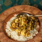 Matar Paneer – indisches Erbsen Käse Curry – vegetarisch