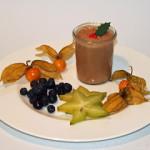 Weihnachtliches Mousse au Chocolat – vegetarisch