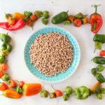 Kichererbsen Salat mit Feta – vegetarisch