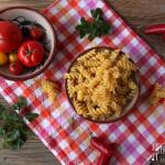 Bunter Spargel Nudel Salat – vegetarisch