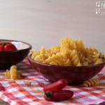 Nudelsalat mit italienischem Touch – vegetarisch
