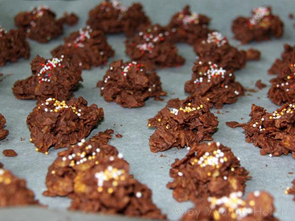 Rezept kekse cornflakes schokolade