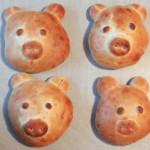 Neujahrs Frühstücks Schweinderl aus Milchbrot – Vegetarisch