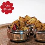 Aloo Methi – Indische Kartoffel mit Bockshornklee-Blättern