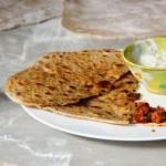 Aloo Paratha – Indisches Fladenbrot mit Kartoffelfüllung