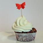 Apfel Walnuss Mohn Cupcakes mit Zitronen Topping – vegetarisch