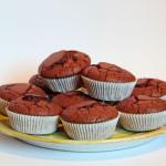 Schoko Bananen Buttermilch Muffins