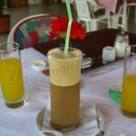 Café Frappe griechisch – Kafes frape – Καφές φραπέ