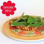 Kapuzinerkresse Brot