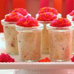 Puddingcreme mit Rhabarberkompott – vegetarisch