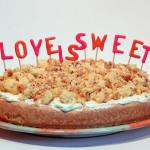 Rhabarber Streusel Kuchen – vegetarisch