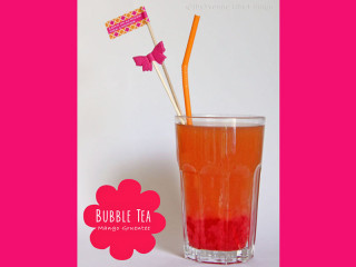 Bubble Tea Mango Grüntee - vegan
