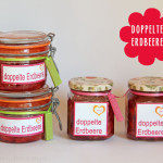 Doppelte Erdbeer-Marmelade bzw Konfitüre