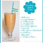 Nektarinen Mango Kokos Joghurt Drink
