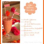 """Unser Sommer-Lieblingsdrink Wassermelonen-Kokos-Smoothie fürs """"Leckere Früchtchen"""" Blogevent von Ofenlieblinge #vegan"""