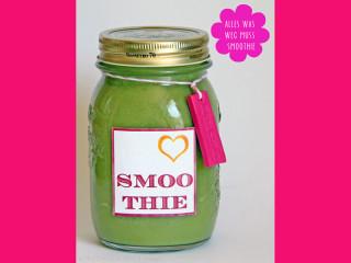 Grüner Smoohie - vegan