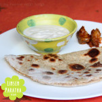 Indische Linsen-Parathas  – Vegan Wednesday