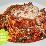 Zucchini Spaghetti Bolognese von Attila Hildmann