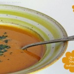 Kürbissuppe vom Hokkaido,  chinesisch interpretiert